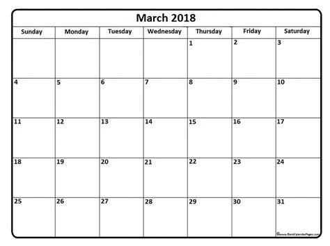calendar template march 2018 march 2018 calendar 56 calendar templates of 2018 calendars printable calendar