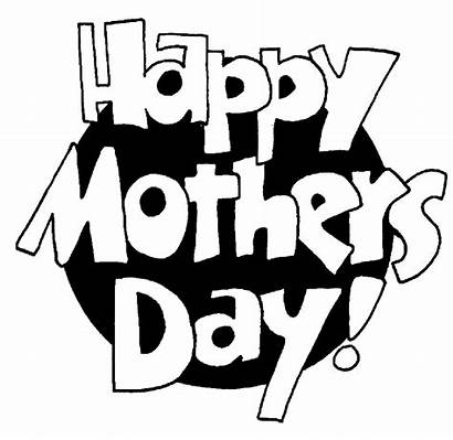Mothers Happy Coloring Pages Mother Poems Clip