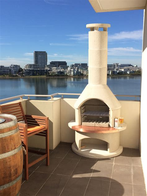Bbq And Fireplace - introducing the buschbeck bbq outdoor fireplace