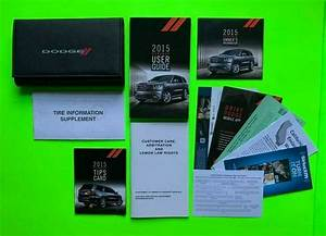 2015 Dodge Durango Factory Owners Manual User Guide Set
