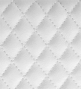 Print A Wallpaper White Leather Wallpaper by Print A