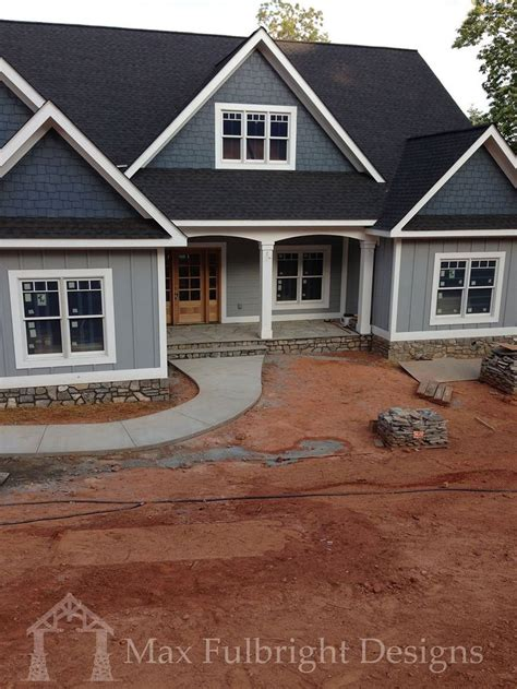 craftsman house plans with walkout basement craftsman style ranch with walkout basement hwbdo77120