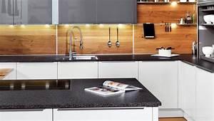 Rückwände Für Küchen : k chenr ckwand ideen aus glas metall fliesen holz k che k chenr ckwand k che und ~ Watch28wear.com Haus und Dekorationen
