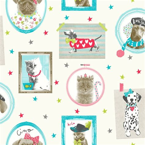 arthouse hall  fame picture frame pattern animal cat dog