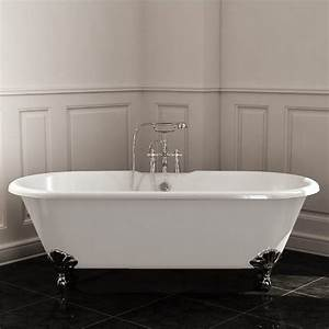 Baignoire Avec Pied : baignoire baignoire ilot ~ Edinachiropracticcenter.com Idées de Décoration