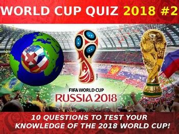world cup  quiz  form tutor activity cover