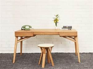 Bureau Design Scandinave : bureau bois design 50 belles propositions ~ Teatrodelosmanantiales.com Idées de Décoration