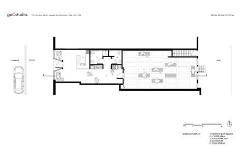 house plans floor plans gallery of ritual house of gocstudio 14