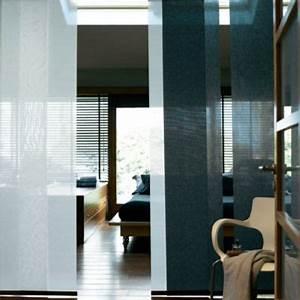 Panneau Rideau Japonais : panneau japonais noir uni 45 x 260 cm castorama ~ Zukunftsfamilie.com Idées de Décoration