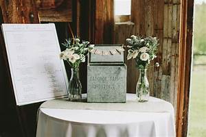 hudson valley wedding ruffled With wedding gift table ideas