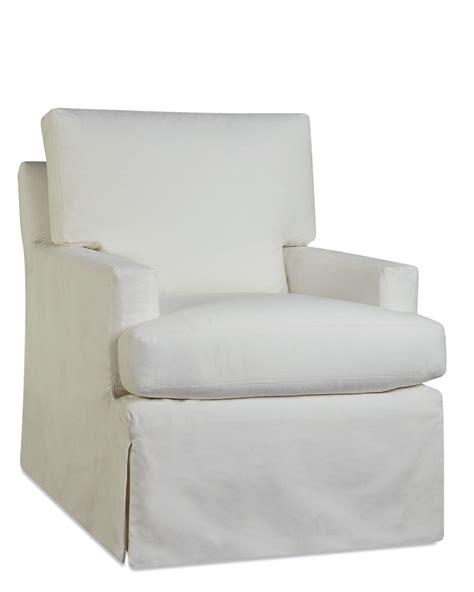 upholstered slipcover swivel chair tree designs