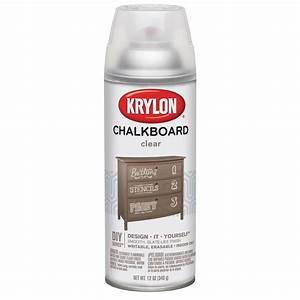 shop krylon clear chalkboard enamel spray paint actual With what kind of paint to use on kitchen cabinets for credit card stickers