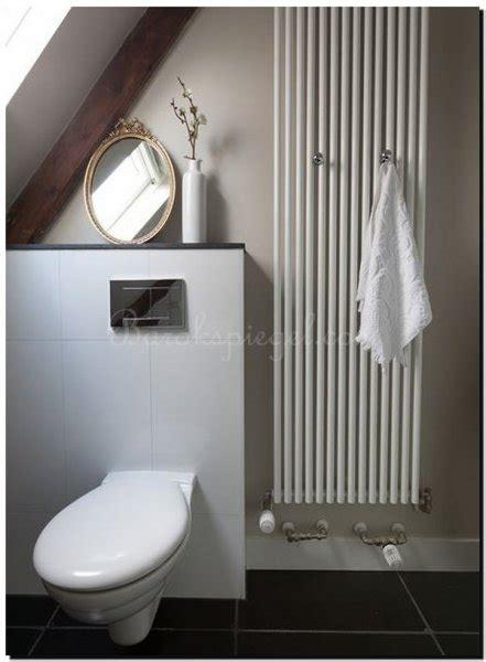 geef je wc of toilet sfeer met een spiegel - Spiegel Voor Toilet