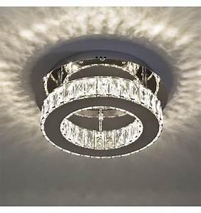 Led Deckenleuchte Kristall : deckenleuchte led kristall kreis design 30 cm diez ~ Orissabook.com Haus und Dekorationen