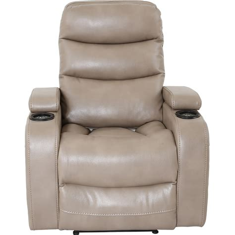recliner with cup holder living genesis mgen 812p contemporary home