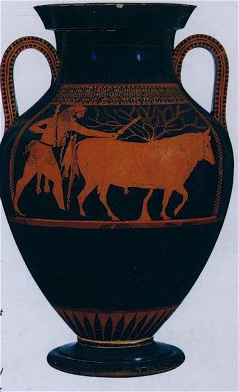 archive attic bilingual amphora  andokides painter