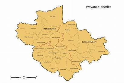 Wayanad Map District Stalin Svg Wikimedia Commons