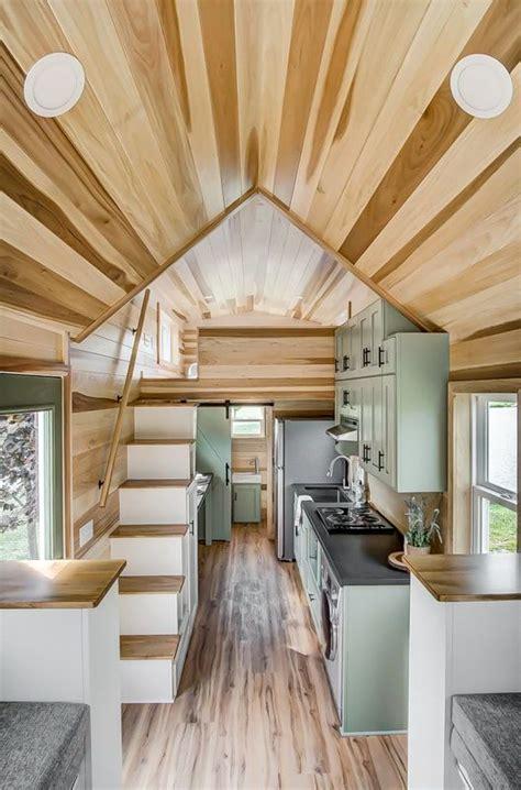 clover  modern tiny living tiny living tiny house kitchen tiny house interior tiny house