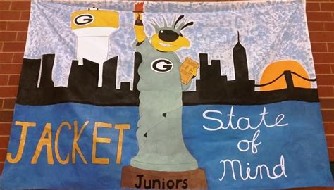 The Greer Hive Times  Homecoming Week 2015 Class Banners. 36 Week Signs Of Stroke. Fids Signs Of Stroke. Interactive Science Notebook Cover Lettering. Call Duty Banners. Top 10 Logo. Street Art Stickers. Ps4 Stickers. Teddy Bear Stickers