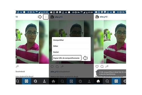 baixar foto do instagram android