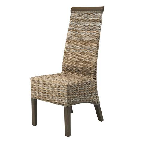 chaise en rotin but soldes chaise en rotin grise berlin kubu chaise de