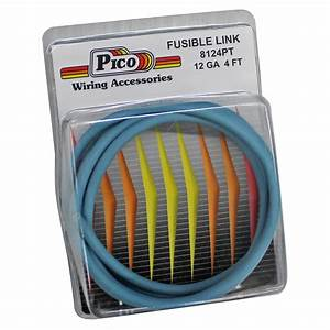 Pico Wiring 8124pt Electrical Wire Fusible Link 12