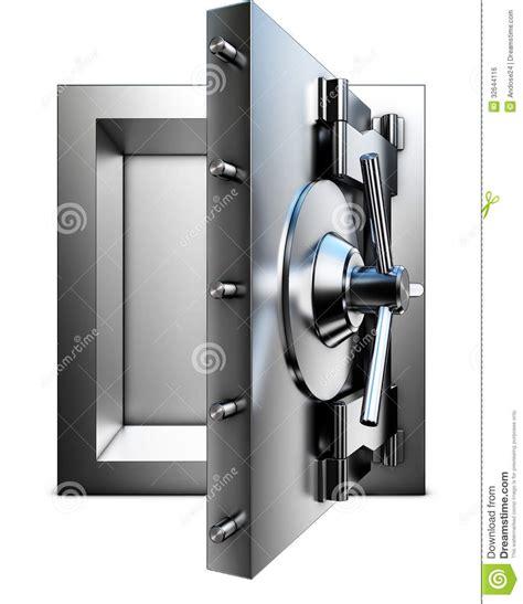 chambre forte chambre forte de banque image libre de droits image
