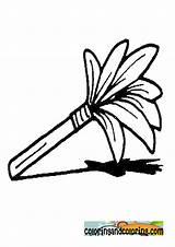 Colorear Dibujos Plumero Coloring Duster Feather Imprimir Ben Template sketch template