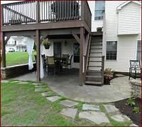 magnificent patio fence design ideas Magnificent Patio Under Deck Design Ideas - Patio Design #207