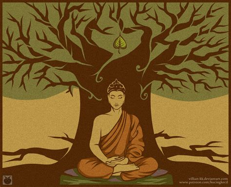 where can i buy a bodhi tree buddha under the bodhi tree by villian kucingkecil on deviantart