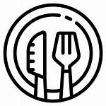Icon Meal Transparent Background Symbol Icons Restaurant