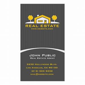 Modern elegant real estate business card zazzle for Modern real estate business cards