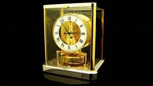 Rare Clock  2 Tone Jaeger Lecoultre Atmos  U00c9lys U00e9es 540