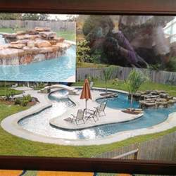 Backyard Pool With Lazy River by Backyard Pool With A Lazy River Outdoor Living