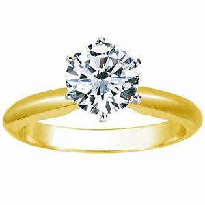 1 2 carat round cut diamond solitaire engagement ring 14k With decent priced wedding rings