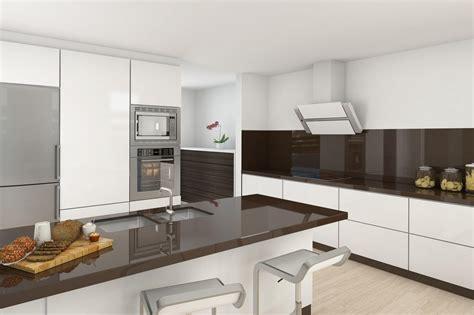 Белокоричневая кухня 50 фото идей, дизайн белой кухни с