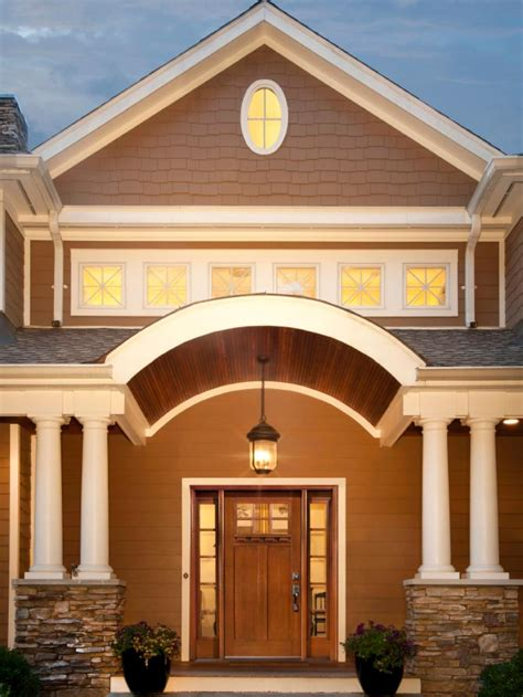 Kitchen Christmas Decorating Ideas - 20 stunning entryways and front door designs hgtv