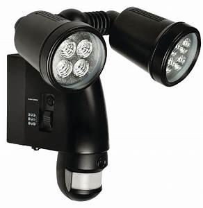 Projecteur Led Detecteur : projecteur led d tecteur de mouvement cam ra int gr e ~ Carolinahurricanesstore.com Idées de Décoration