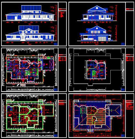 cad building template us house plans house type 15 5916sqft