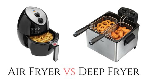 fryer air deep vs fryers fried fries french which difference chicken everything