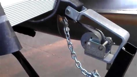 Boat Trailer Safety Chain by Safety Chains On Boat