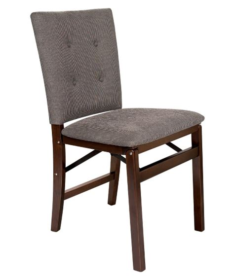 Padded Folding Dining Room Chairs by Stakmore Parsons Upholstered Folding Chair Set Of 2