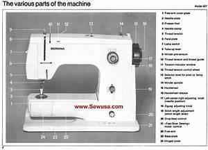 Bernina 900 Nova Instruction Manual