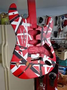 Mattwins   How To Paint An Eddie Van Halen Frankenstrat