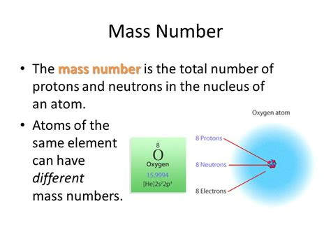 The Total Number Of Protons And Neutrons In The Nucleus atoms sub atomic particles nuclear chemistry ppt