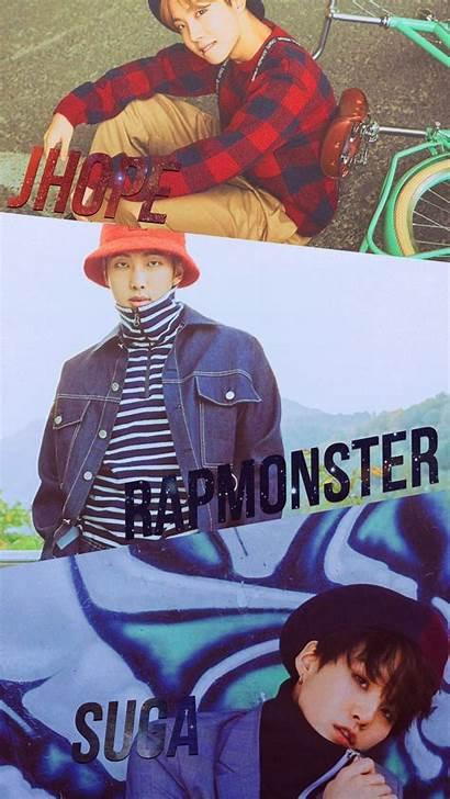 Bts Yoongi Namjoon Rap Line Hoseok Paramore