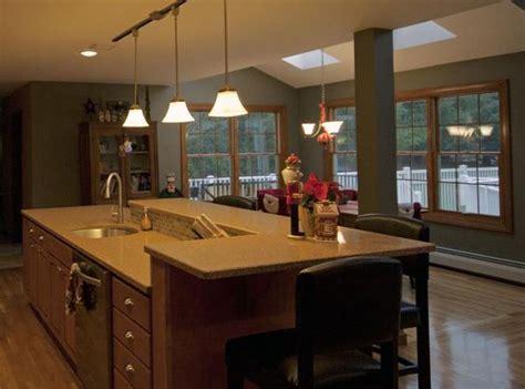 kitchen island  raised bar top google search dream