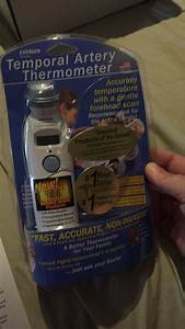 Ooingle - Exergen Temporal Scanner Thermometer