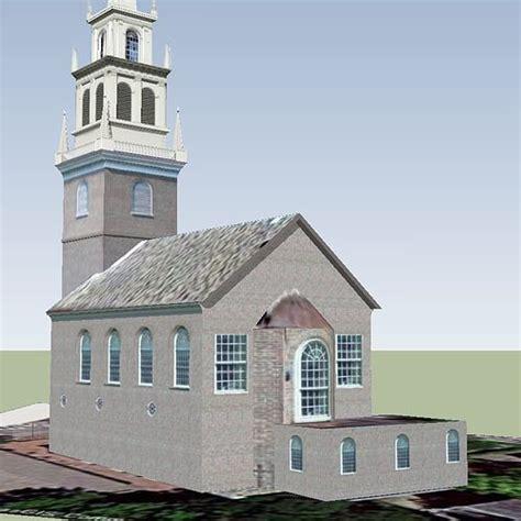 north church boston  model cgtrader