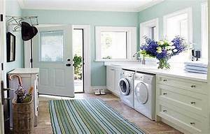 Laundry room counter top designs ideas laundry room for Best designed laundry rooms